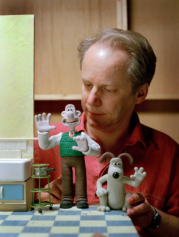 Behind the Scenes with Wallace and Gromit